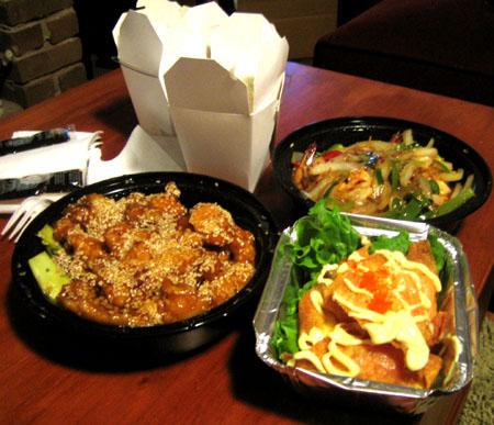 Chinese Food Take Out Chinese Food Take Out Chinese